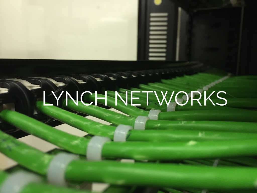 Lynch Networks Structured Cabling Solutions Network Pictures Wiring 1 B